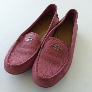 Coach mary lock up driver loafer